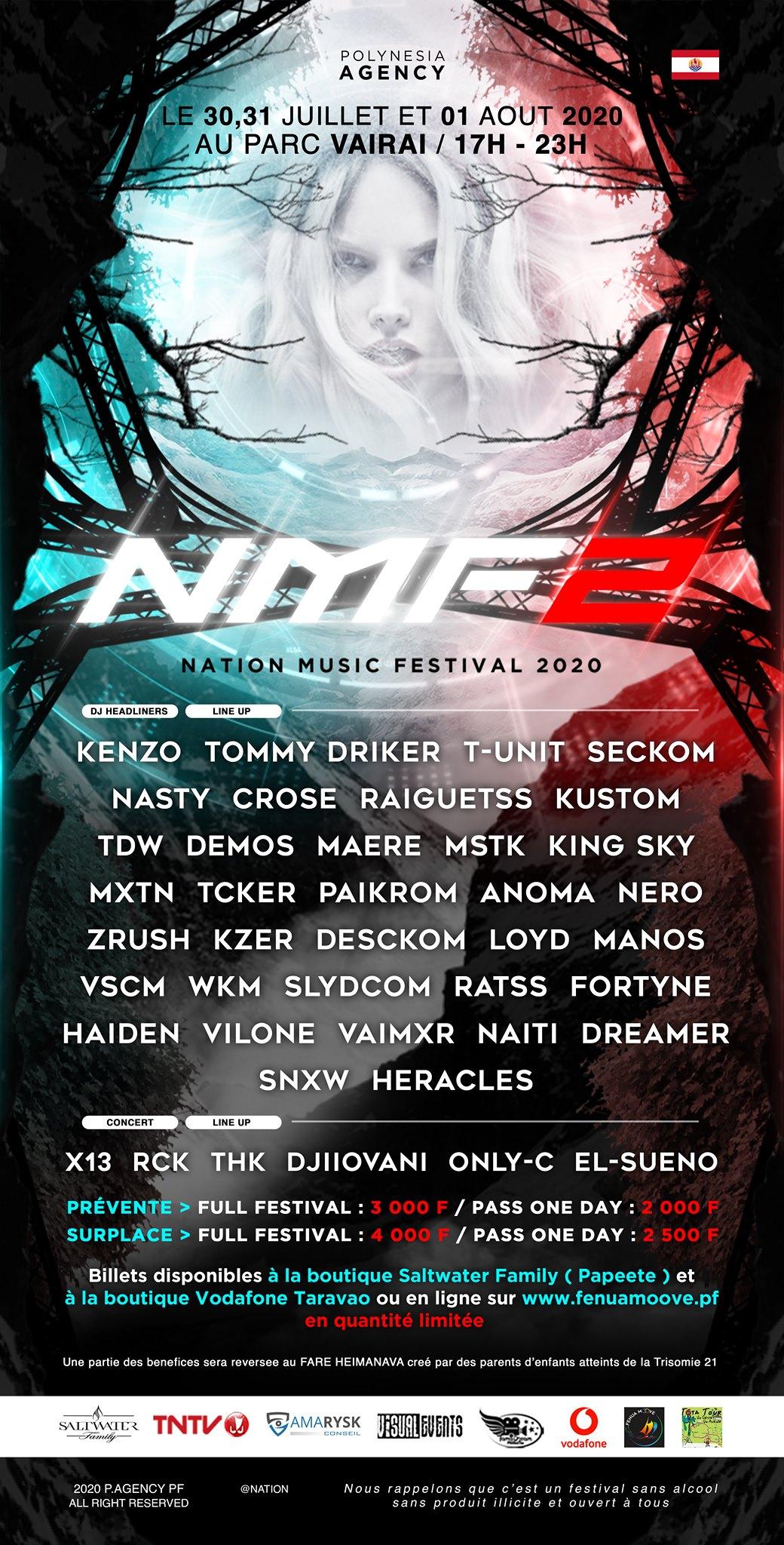 Nation music festival : 3 jours de scène