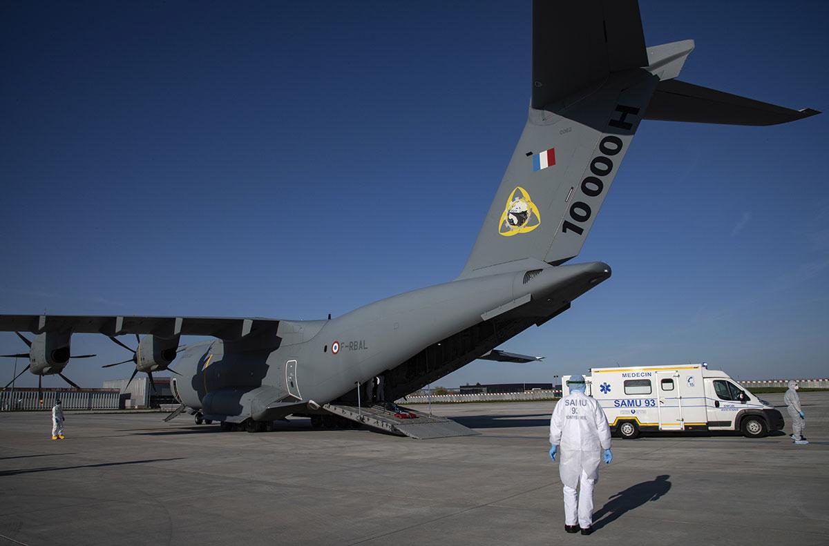 Guyane: l'armée envoie un A400M pour des évacuations sanitaires