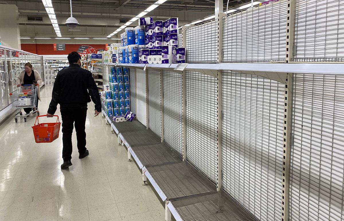 Virus: panique en Australie, le papier toilette à nouveau rationné