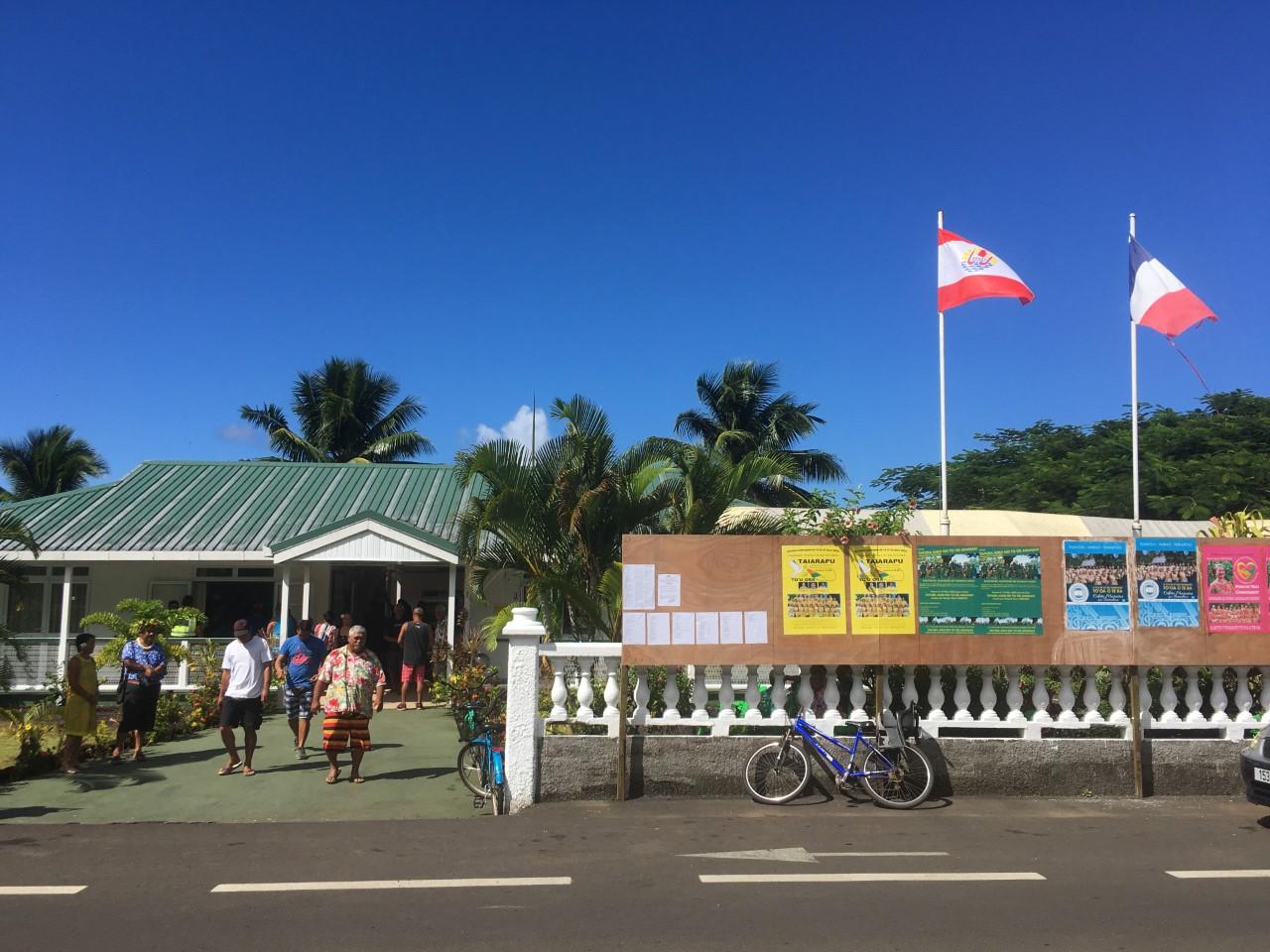 Hamblin plébiscité à Taiarapu-Ouest