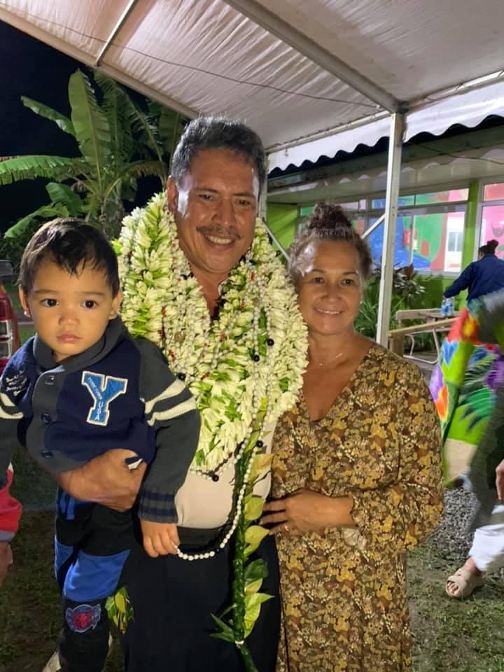 Tetuanui Hamblin sera bientôt maire de Taiarapu-Ouest (photo Facebook)