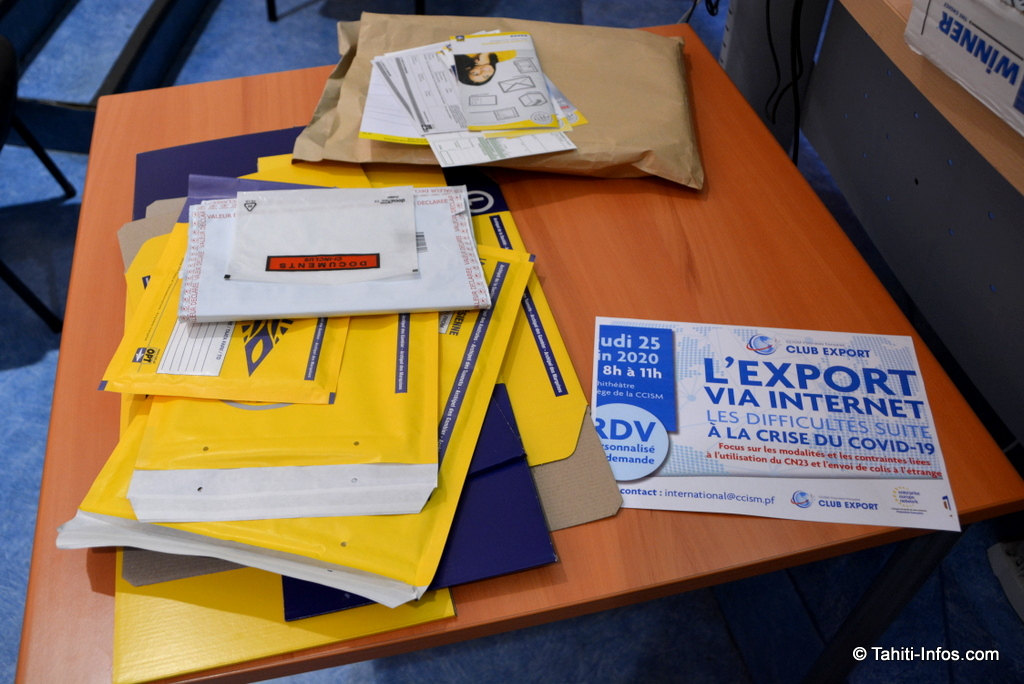 La poste a dévoilé des enveloppes spéciales export