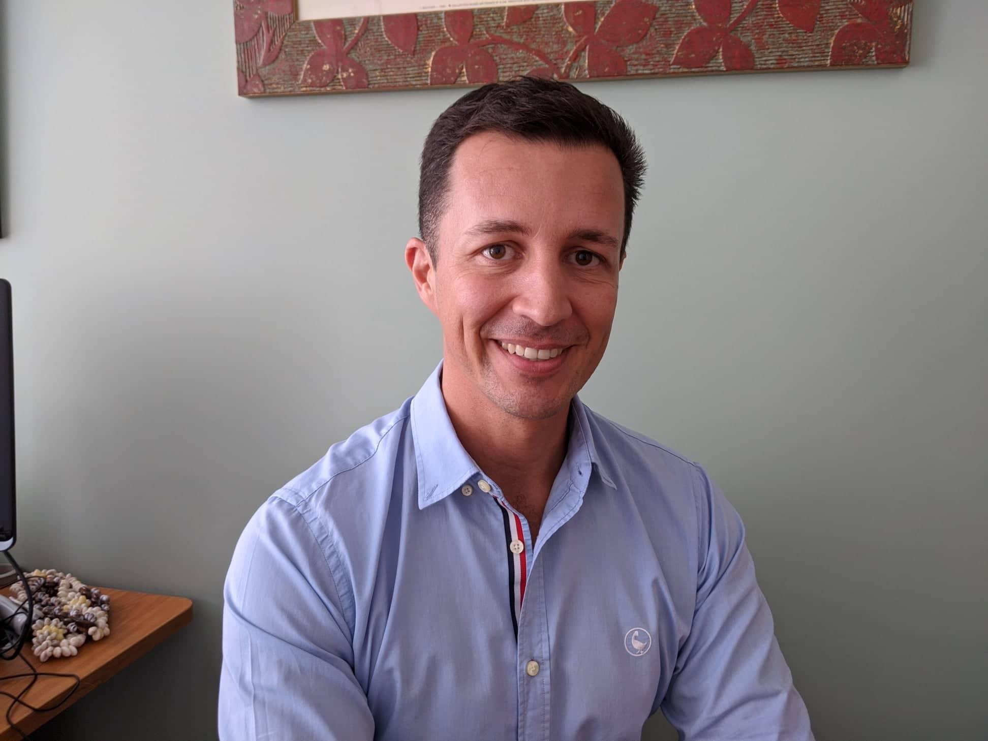 Julien Fontaine, directeur des examens, des certifications professionnelles et des concours (DEC), au vice-rectorat de Polynésie française.