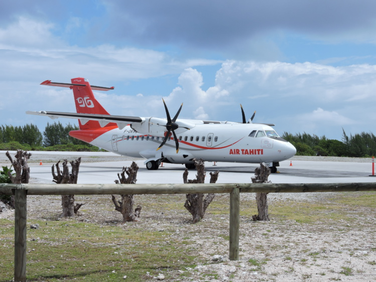 """Air Tahiti va reprendre ses vols """"sur l'ensemble des destinations"""""""