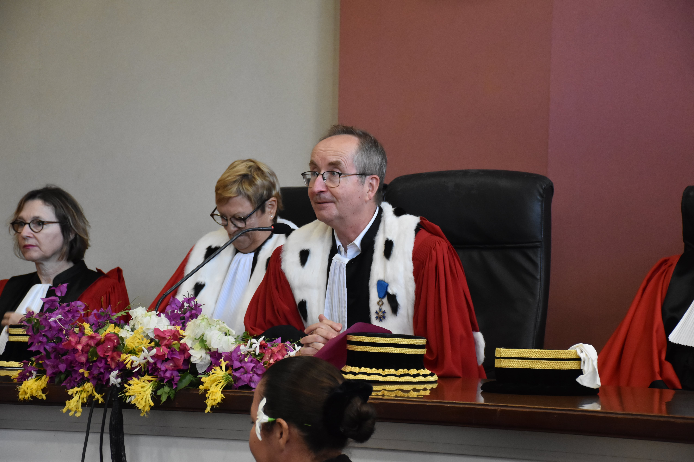 """Thierry Polle attaché à """"l'indépendance des magistrats"""""""