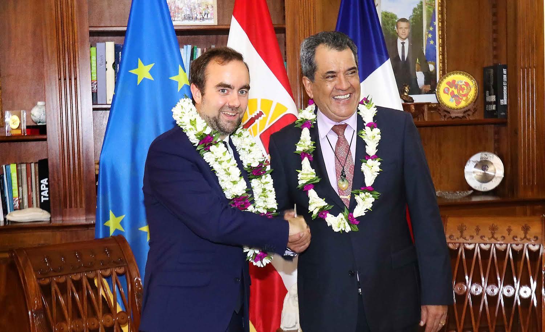 Sébastien Lecornu nommé ministre des Outre-mer
