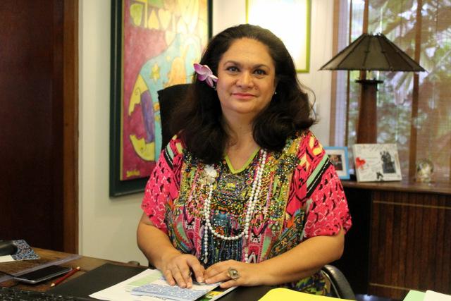 Nicole Bouteau remplace Sylviane Terooatea à la présidence de l'ACCD'OM