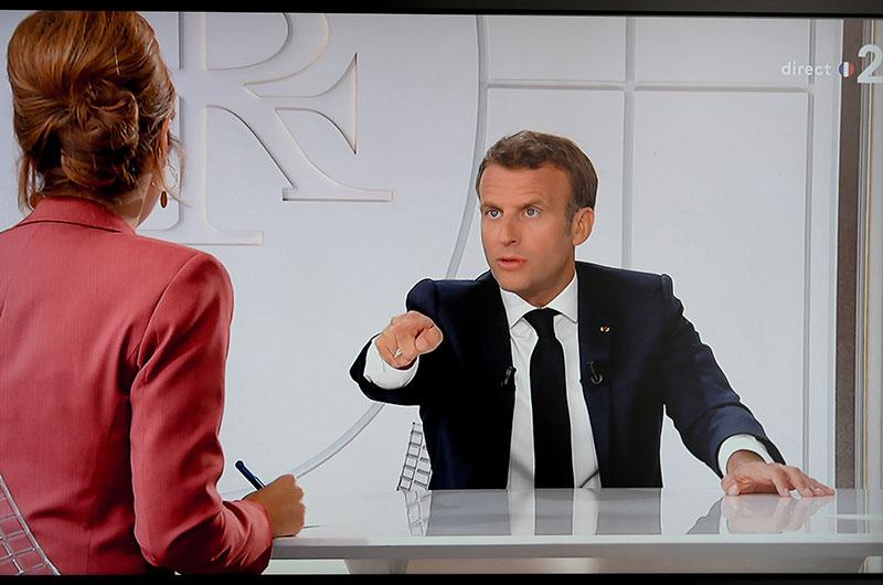 Macron annonce 100 milliards d'euros de plus pour une relance tous azimuts