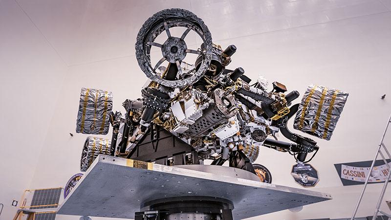 La Nasa va lancer un robot chasseur de microbes sur Mars: Perseverance