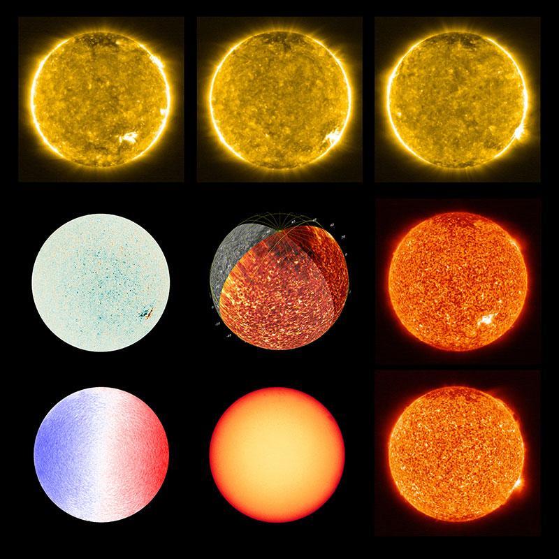 """Zoom inédit sur le Soleil et ses """"feux de camp"""""""
