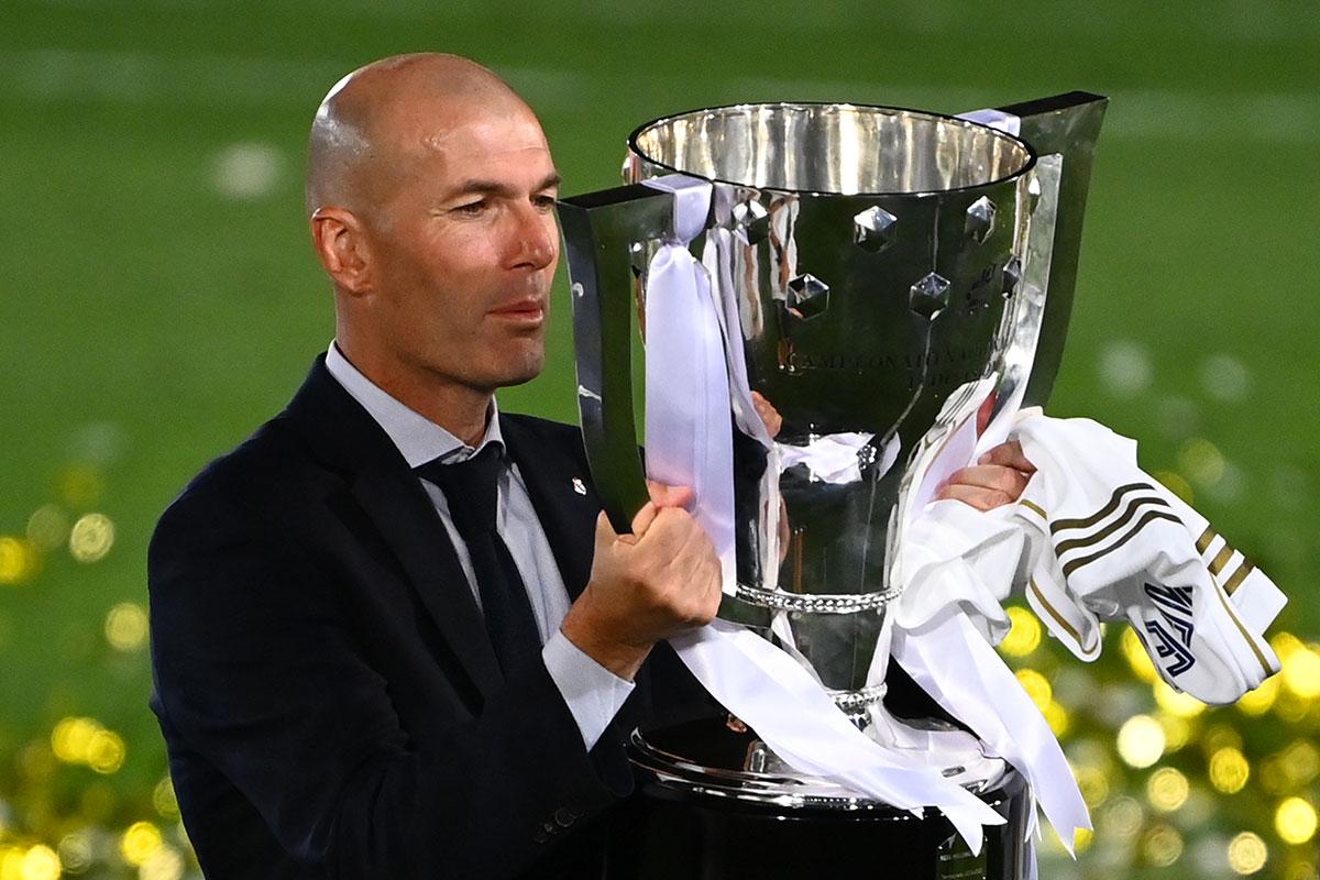 Espagne: le Real de Zidane brise l'hégémonie du Barça en Liga