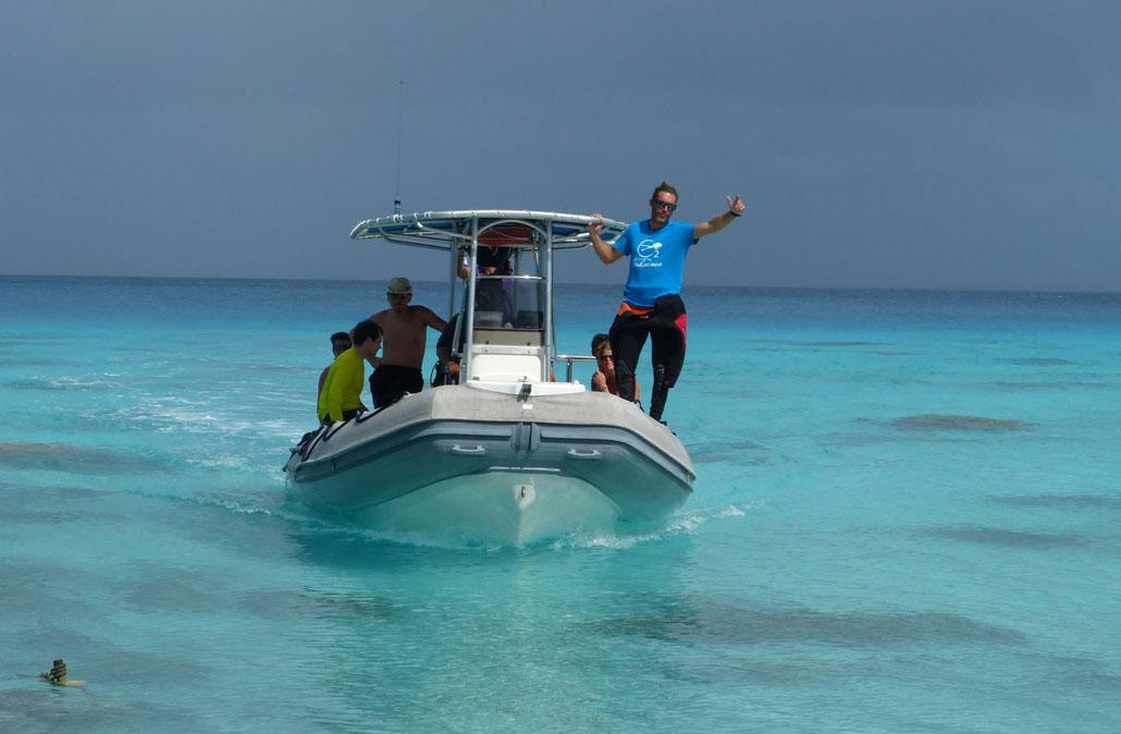 Le SPCP a élu un président qui n'est pas basé à Tahiti, le gérant du club de Fakarava Thibault Gachon. (FB Thibault Gachon)