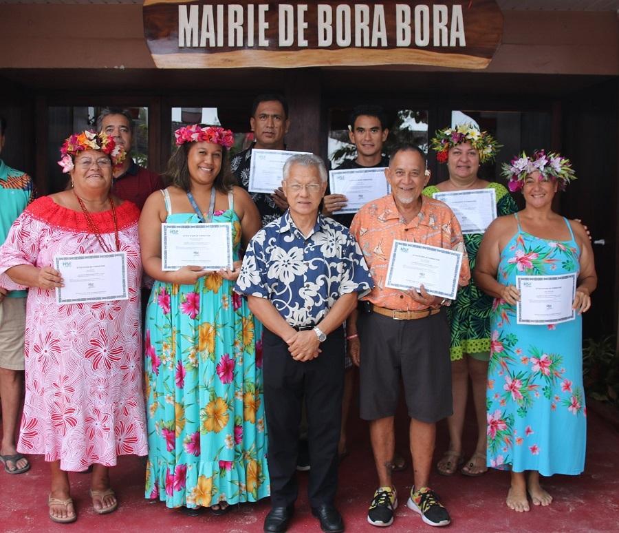 Bora Bora reprend vie