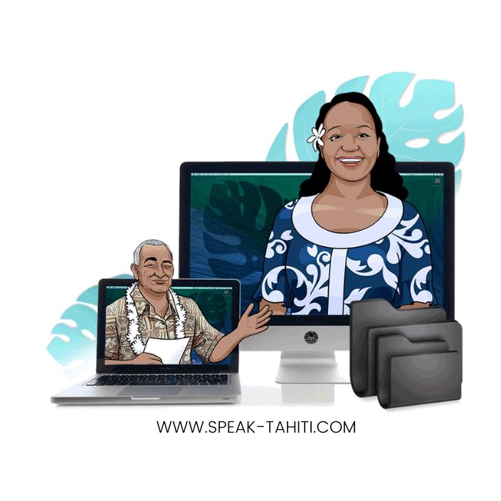 Speak Tahiti – Paraparau Tahiti, faire vivre le reo mā'ohi