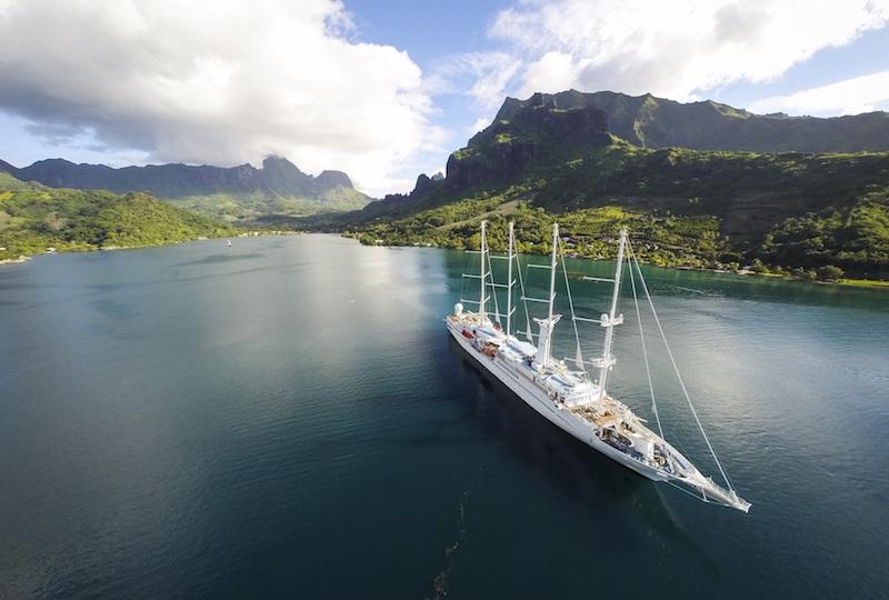 Le Wind Spirit annule quatre croisières en Polynésie