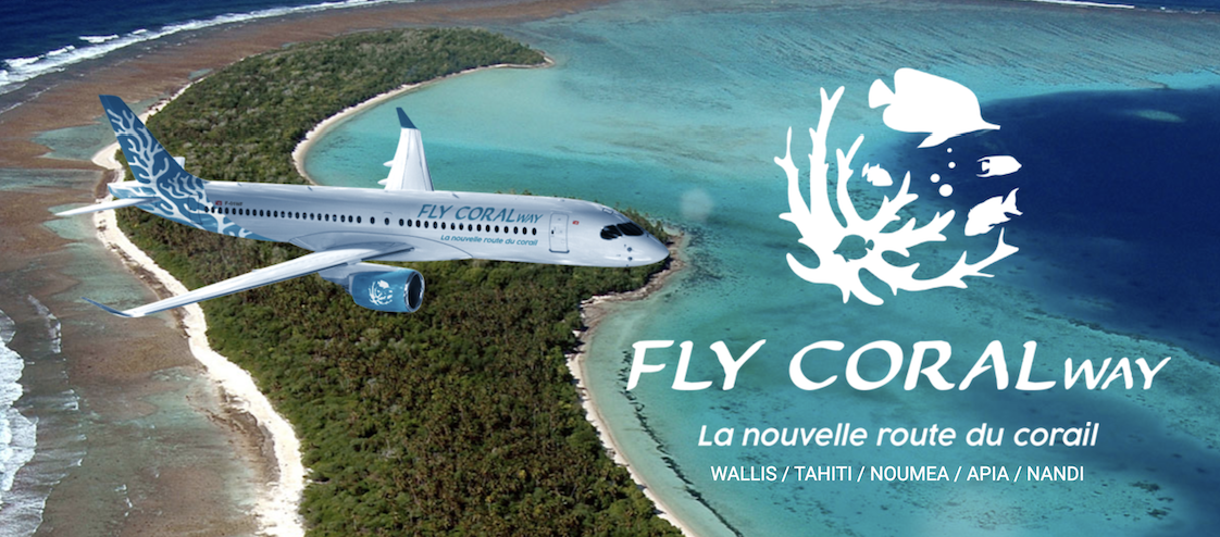 crédit Fly Coral Way route corail