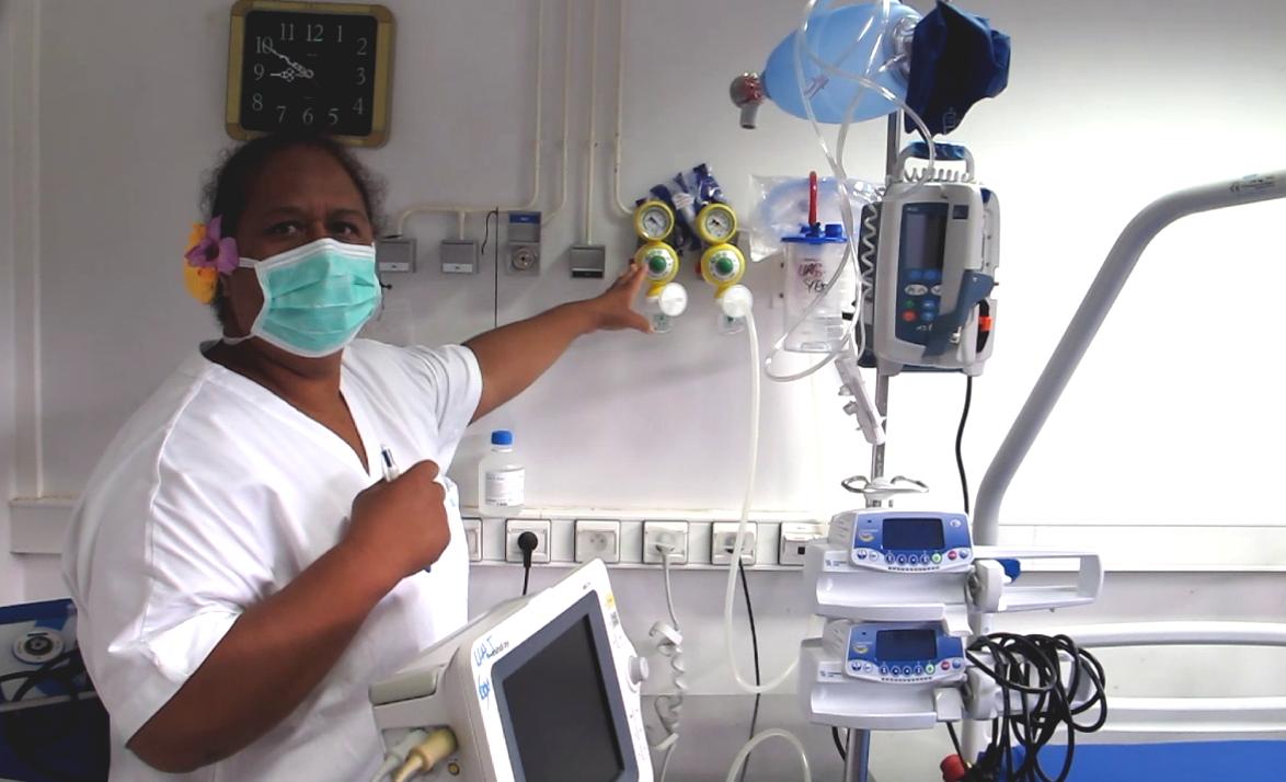 L'hôpital de Nuku Hiva en ordre de bataille