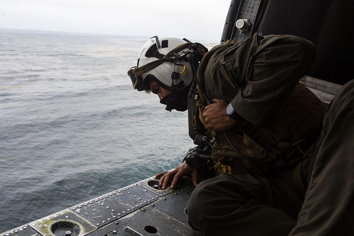 Fin des recherches pour huit militaires américains, disparus après un naufrage