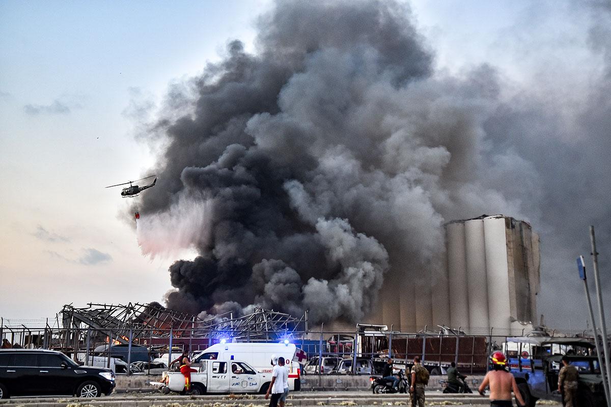 Liban: 2.750 tonnes de nitrate d'ammonium à l'origine des explosions du port