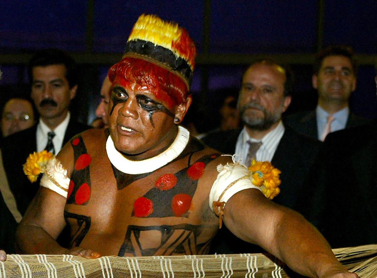 Brésil: mort d'Aritana, grand chef indigène, du Covid-19