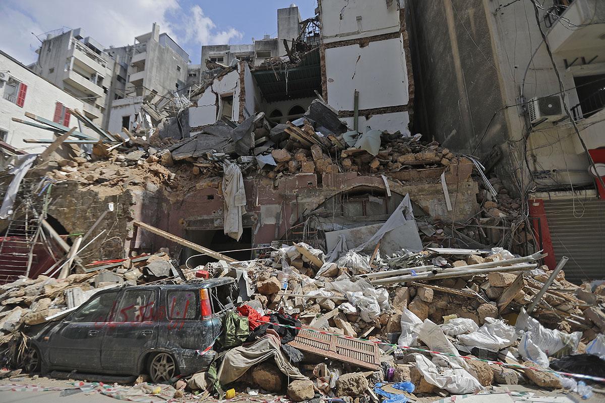 """La famille de pompiers disparus à Beyrouth n'espère plus que leurs """"restes"""""""