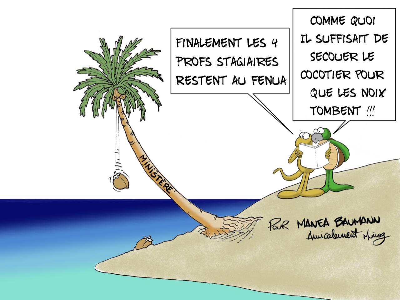 """""""L'Education se secoue"""", par Munoz"""