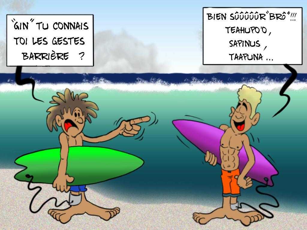 """""""Les gestes barrière"""", par Munoz"""