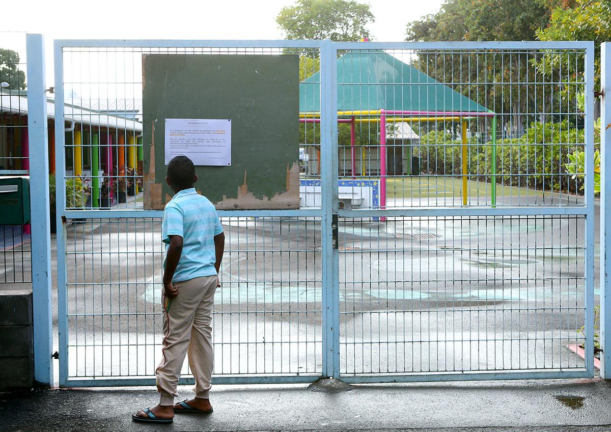 La Réunion: Rentrée scolaire reportée dans des écoles et port du masque dans certains lieux publics