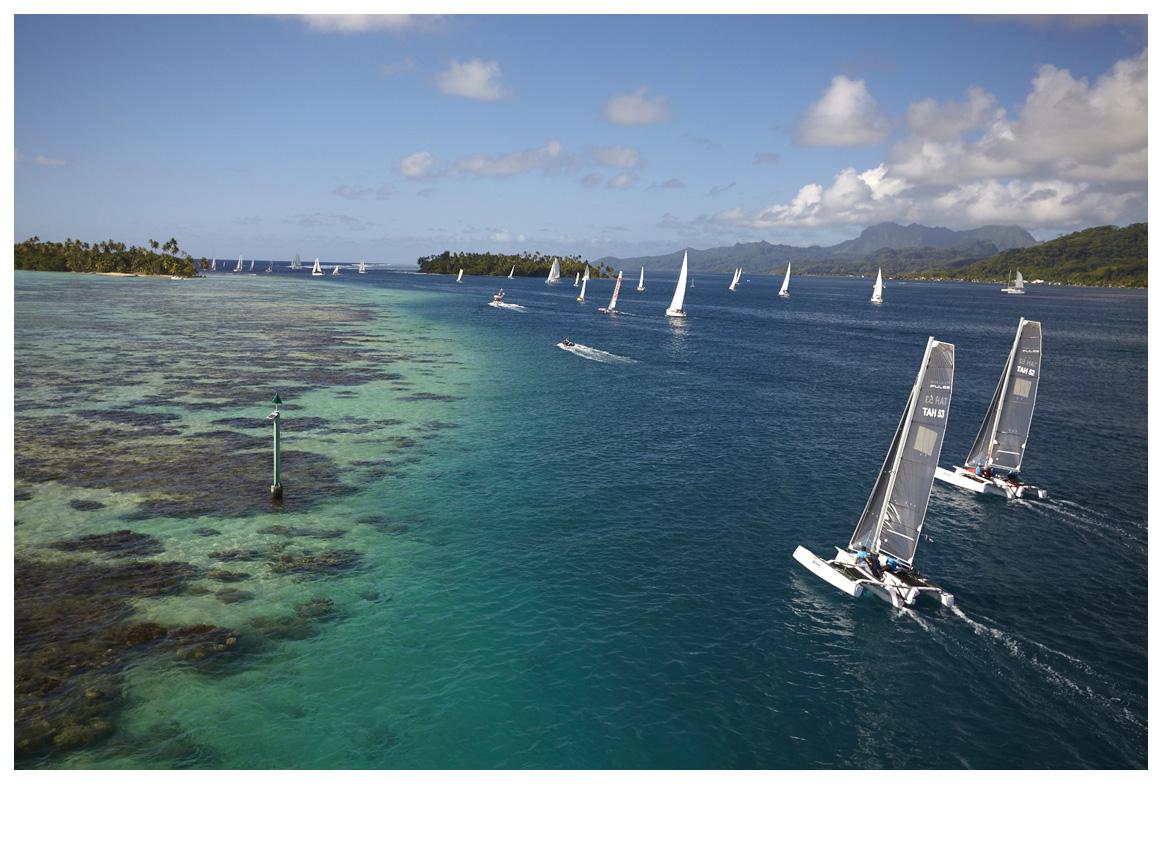 Photo : Bertrand Duquenne-Tahiti Pearl Regatta.