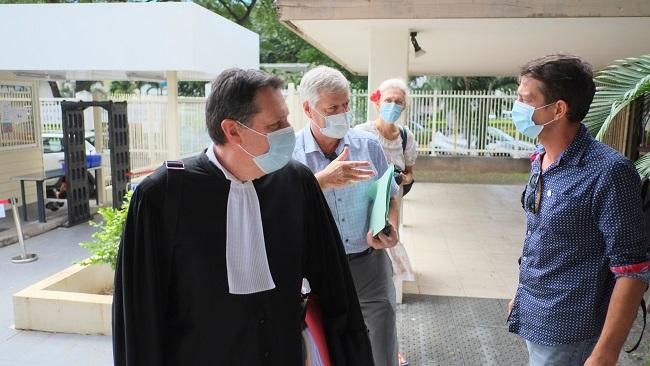 Début du bras de fer judiciaire entre Jacques Mérot et le Pays