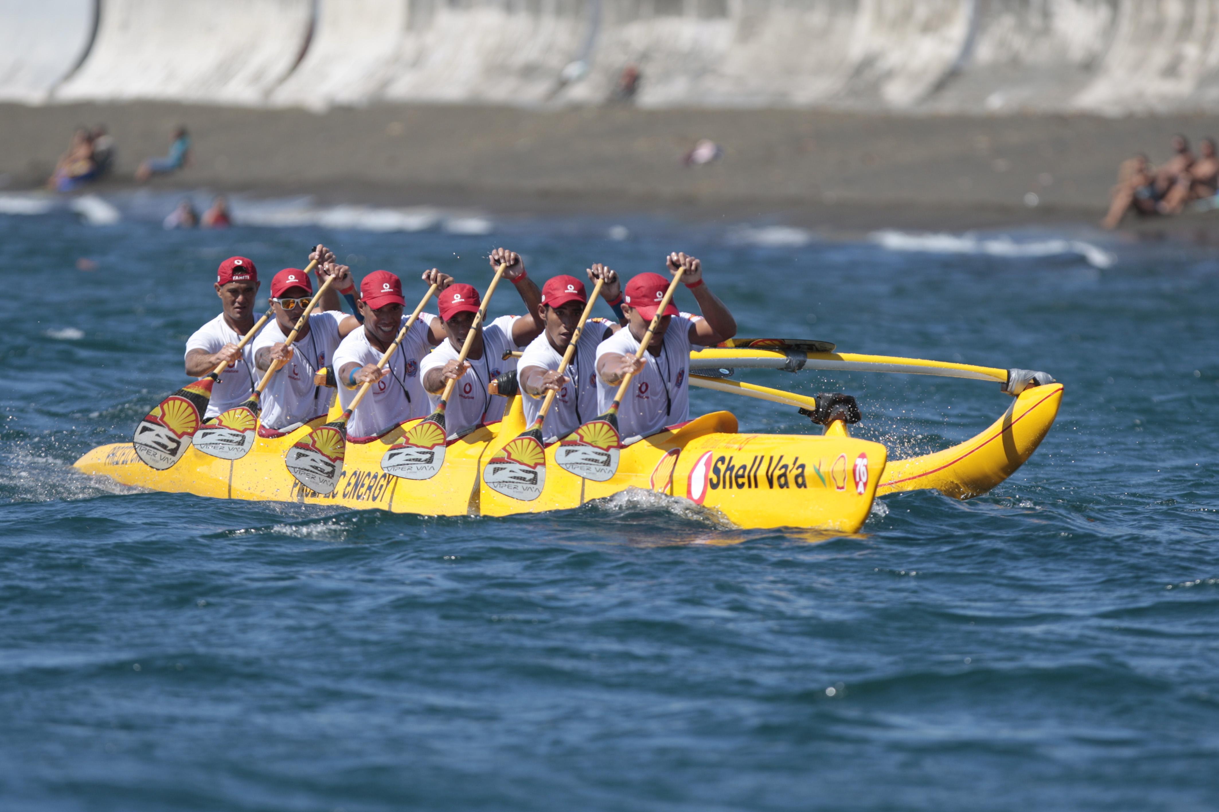 Après un départ timide, les Shelliens ont déroulé lors de la traversée du chenal entre Tahiti et Moorea.
