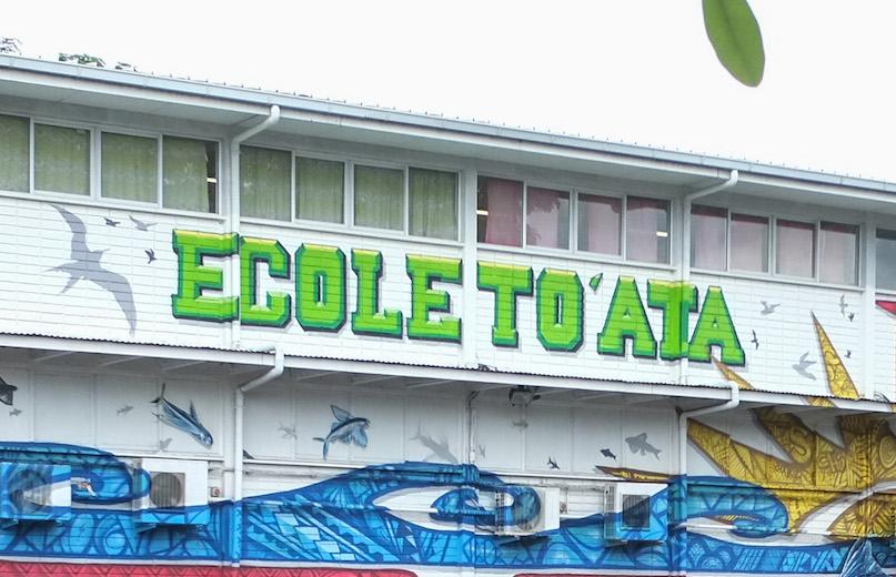 L'école To'ata et deux classes du Diadème et de Gauguin fermées