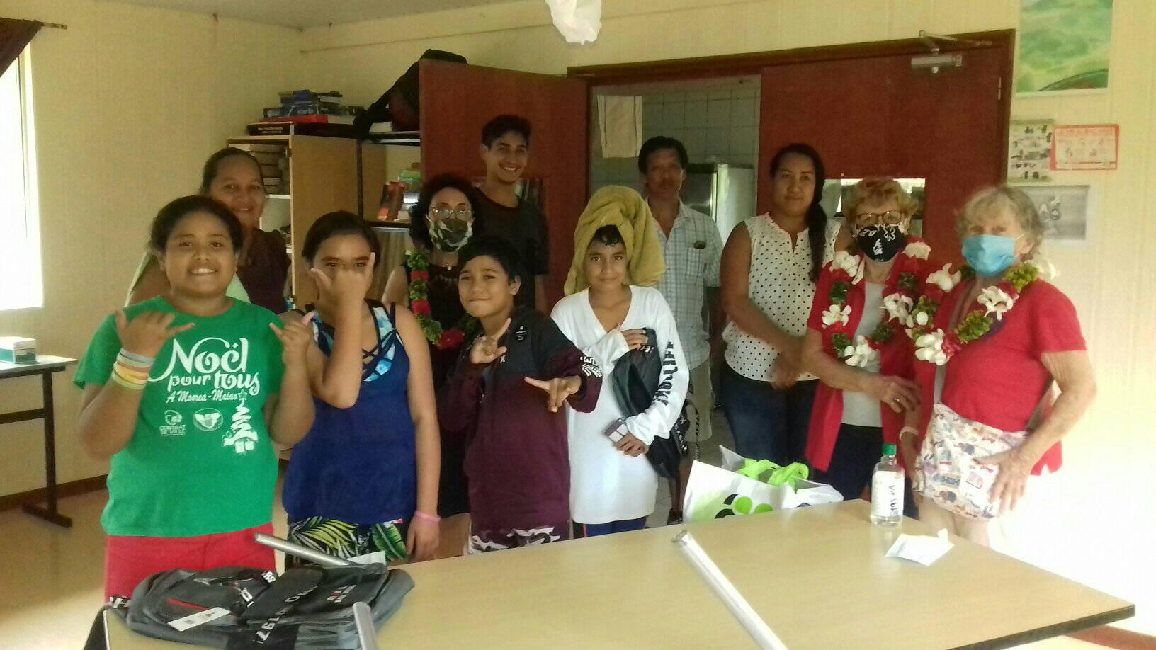 Le Rotary soutient quatre élèves de Mai'ao
