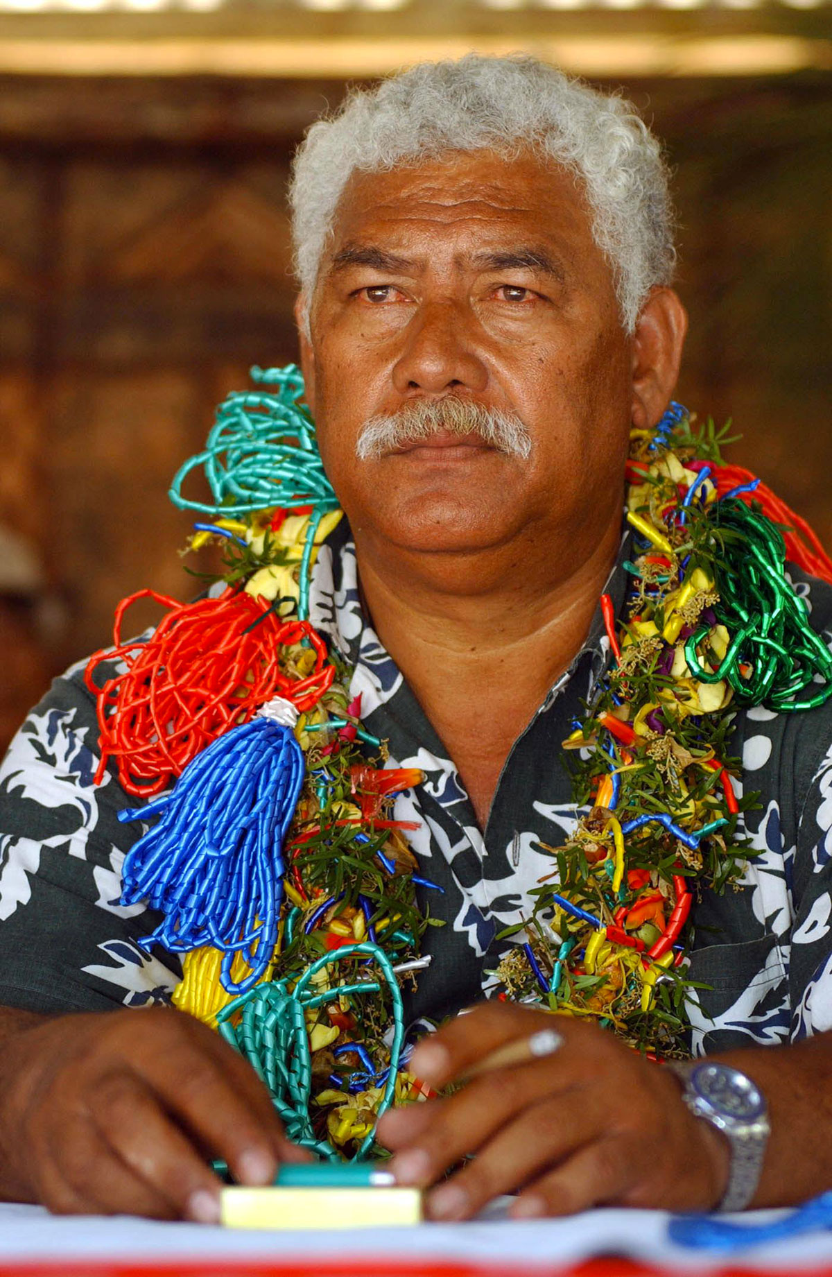 """""""Il n'est plus question de laisser partir cette ressource qui ne se renouvelle pas, ni qu'un étranger mette la main sur notre patrimoine minier"""", a déclaré à la presse Alosio Sako."""
