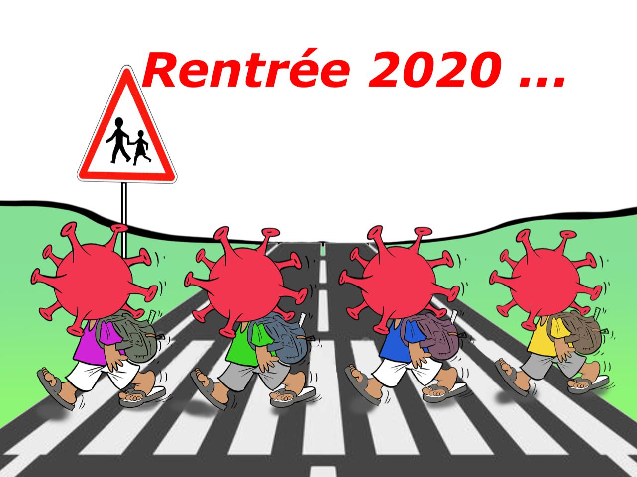 """""""Rentrée 2020"""", par Munoz"""