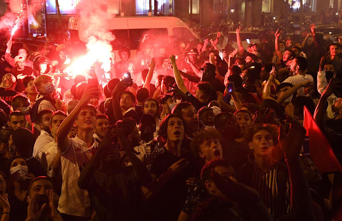 Liesse à Paris après la victoire du PSG : 36 interpellations
