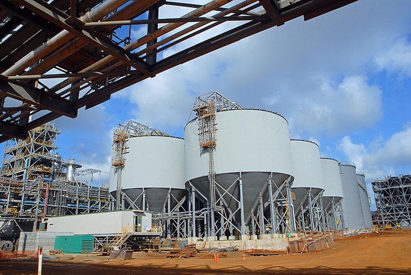 Manifestation à Nouméa contre la vente de l'usine de nickel du Brésilien Vale