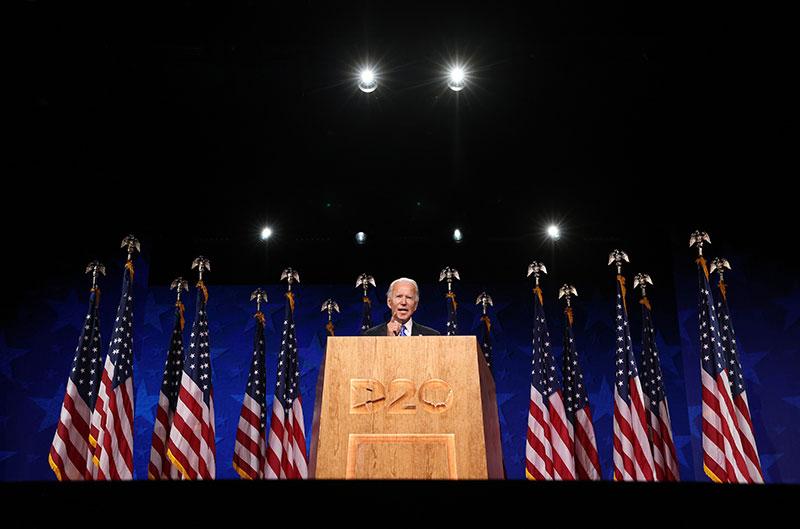 Mission accomplie pour Joe Biden, rassembleur du parti démocrate
