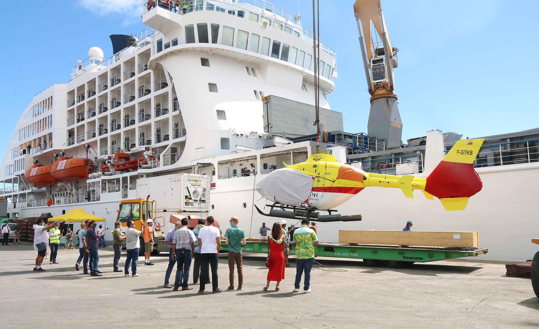 Un second hélicoptère embarqué sur l'Aranui