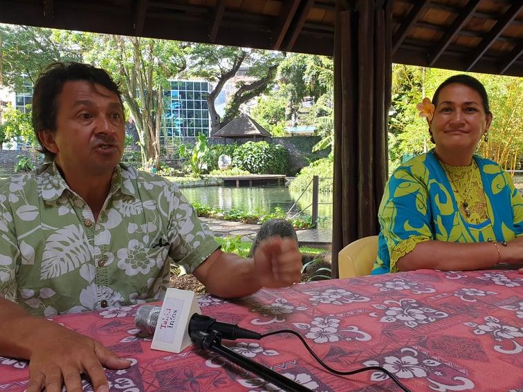 Nuihau Laurey et Sylviane Terooatea officialisent leurs candidatures pour les sénatoriales