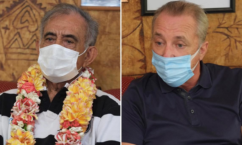 Oscar Temaru et Michel Villar candidats aux sénatoriales