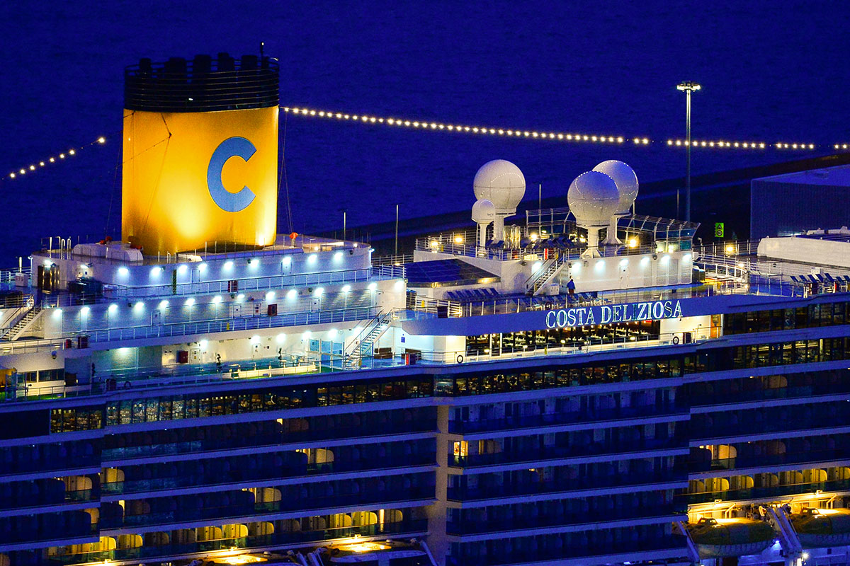 Covid-19: Costa Croisières va tester chaque passager avant d'embarquer dans ses navires
