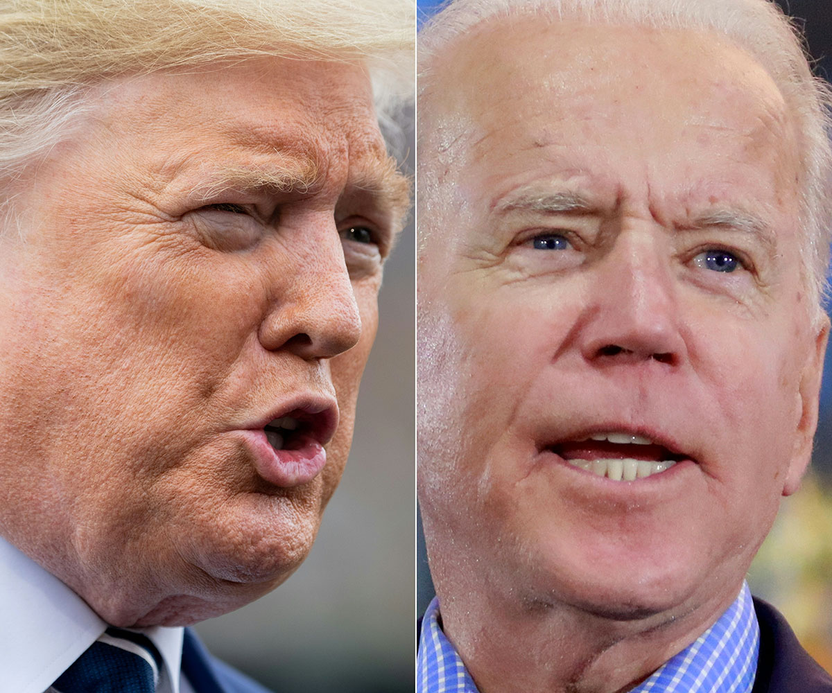"""Trump veut un """"test antidopage"""" avant de débattre avec Biden"""