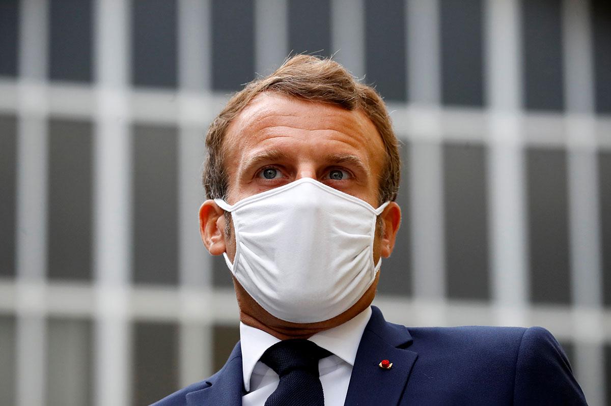 """Covid-19: Macron défend son plan de relance """"pour préparer la France de 2030"""""""