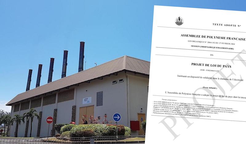 Tarifs de l'électricité dans les îles : La nouvelle donne