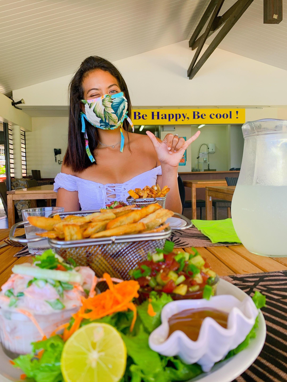 Vaimalama Chaves, amoureuse et boostée après ses vacances en Polynésie