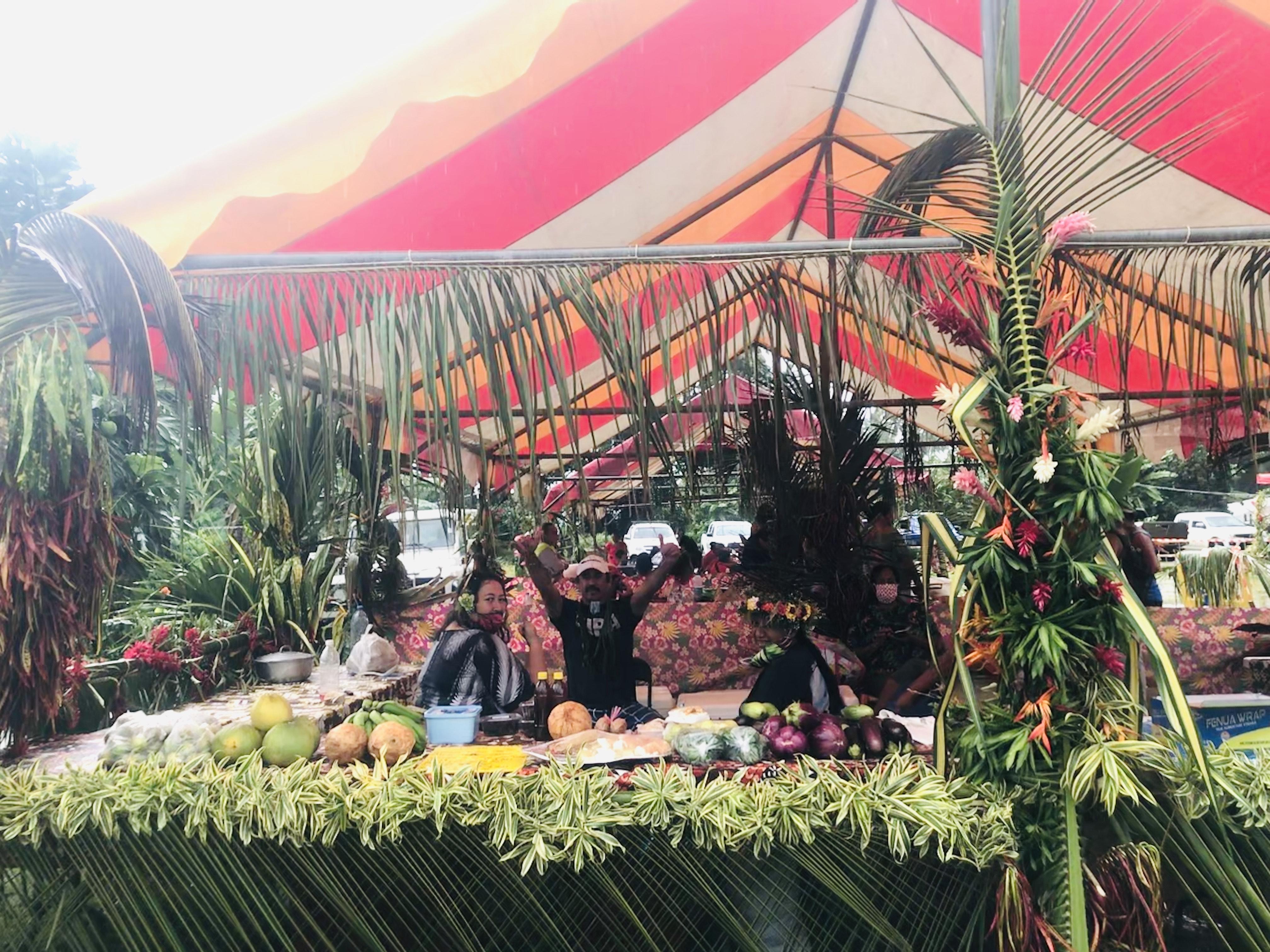 Le terroir fait son marché à Hiva oa