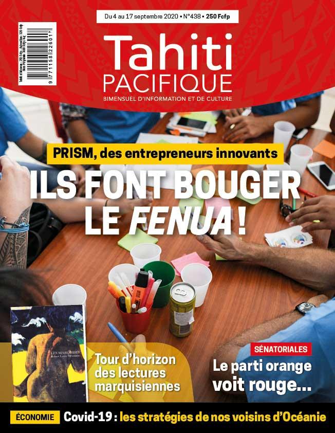 À la UNE de Tahiti Pacifique vendredi 4 septembre 2020