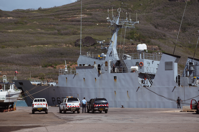 L'Arago en relâche opérationnelle à Ua Pou