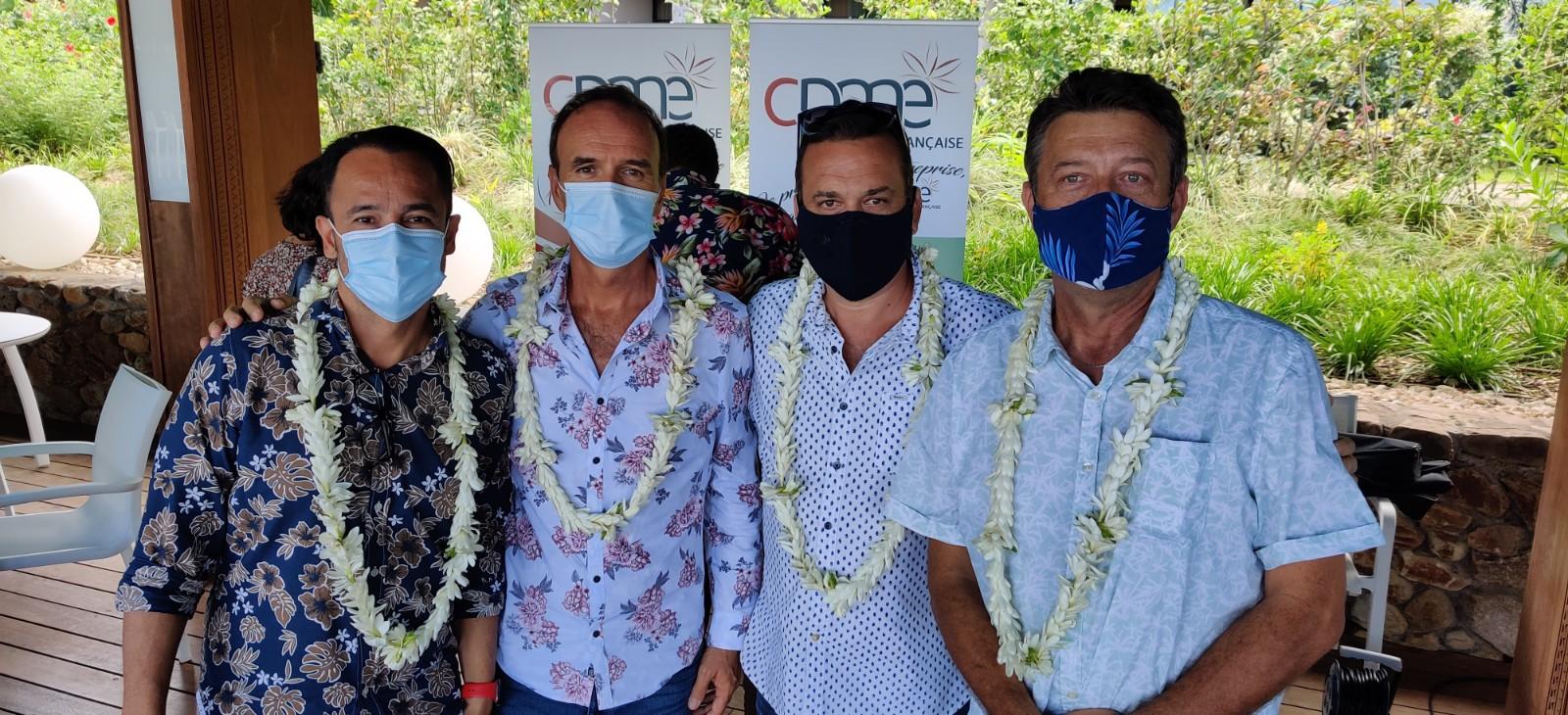 Christophe Plée garde la tête de la CPME en Polynésie